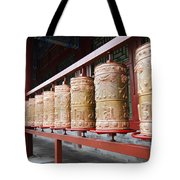 Prince Gong's Mansion 8622 Tote Bag