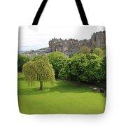 Princes Street Gardens 6480 Tote Bag