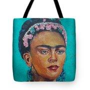 Princess Frida Tote Bag by Lilibeth Andre