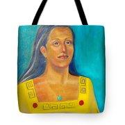 Princess Izta Tote Bag by Lilibeth Andre