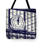 Principe Pio Clock Tote Bag by Joan Carroll
