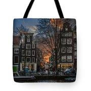 Prinsengracht 743. Amsterdam Tote Bag