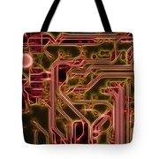Printed Circuit - Motherboard Tote Bag