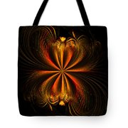 Printemps Papillon - Abstract Expressionism Tote Bag