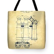 Prismatic Telescope Patent From 1908 - Vintage Tote Bag