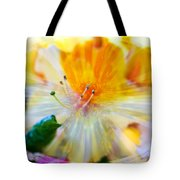 Prisms Of Nature - Meditation - Rhododendron  Tote Bag
