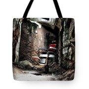 Prison Barbershop Tote Bag