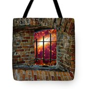 Prison In The Cosmos Tote Bag
