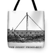Prison Ship: Jersey Tote Bag by Granger
