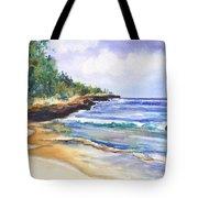 Pristine Mahaulepu Beach Tote Bag