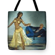 Private Dancer Tote Bag