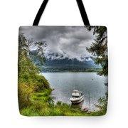 Private Dock Tote Bag