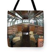 Private Dome Rail Car  Tote Bag