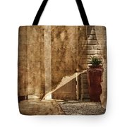 Private Entrance Tote Bag