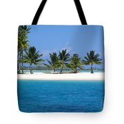 Private Motu Bora Bora Tote Bag