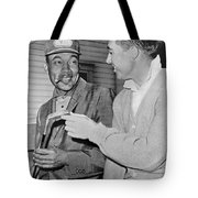 Pro Golfers Chat Tote Bag
