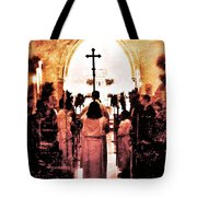 Procession Of Light Tote Bag