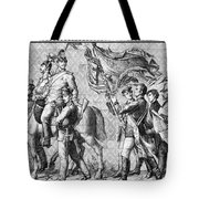 Procession Of Princes - Dresden Germany Tote Bag