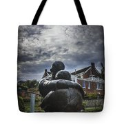 Prodigal Under Clouds Tote Bag
