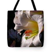 Profile Lilium Regale Tote Bag
