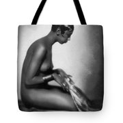 Profile Of Josephine Baker Tote Bag