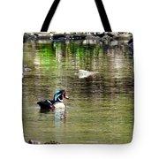 Profiled Duck Tote Bag