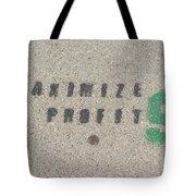 Profit Tote Bag