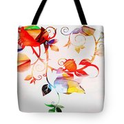 Profound Thought Rose Vine Tote Bag