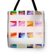 Profound Thought Segmented Tote Bag