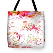 Profound Thought Whirls Tote Bag