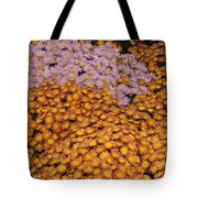 Profusion In Yellows Pinks And Oranges Tote Bag