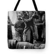 Federal Prohibition Agents Destroy Liquor 1923 Tote Bag