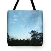 Projecting Into Heaven Tote Bag