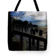 Promenade At The Hudson River New York City Tote Bag