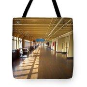 Promenade Deck Queen Mary Ocean Liner 02 Tote Bag