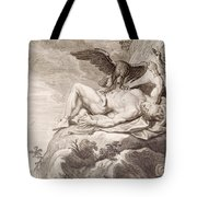 Prometheus Tortured By A Vulture Tote Bag