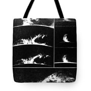 Prominences On The Sun 1937 Tote Bag