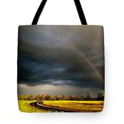 Promise On The Mother Road Rt 66 Flagstaff Az Tote Bag