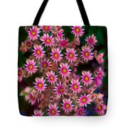 Promising Pink Petals Abstract Garden Art By Omaste Witkowski Tote Bag