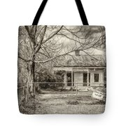 Promoting The Obvious - Paint Bw Tote Bag
