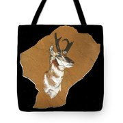 Pronghorn  Pictograph Tote Bag