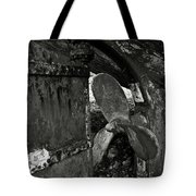 Propeller Of An Old Abandoned Ship Tote Bag