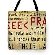 Prophetic Call  Tote Bag