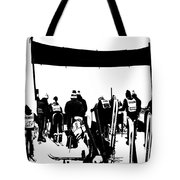 Pros Looking Over The Course Tote Bag
