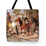 Prospecting For Cattle Range Tote Bag