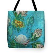 Protea Flower Study I Tote Bag
