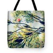 Protea Repens Maui Hawaii Sugarbush Tote Bag