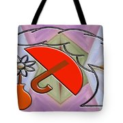 Protected By The Light Of Love Tote Bag