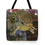 Protected Gar Tote Bag