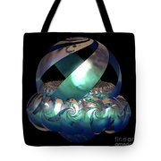 Protected Nest Amongst Waves Tote Bag